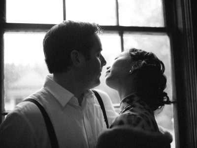 Aaron + Carmen  // Burnaby Village Museum Engagement Photography