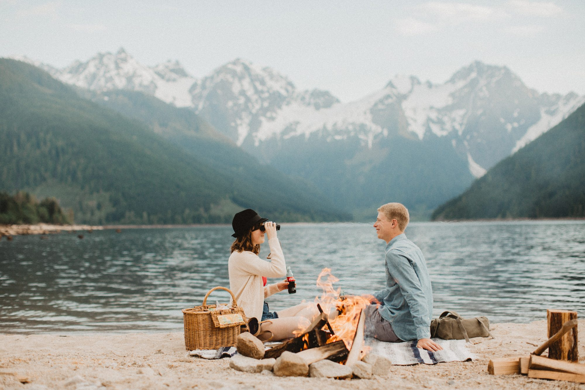Trevor + Danielle  // Manning Park Engagement Photographer, Luke Liable  // Victoria & Vancouver Island Wedding Photographer