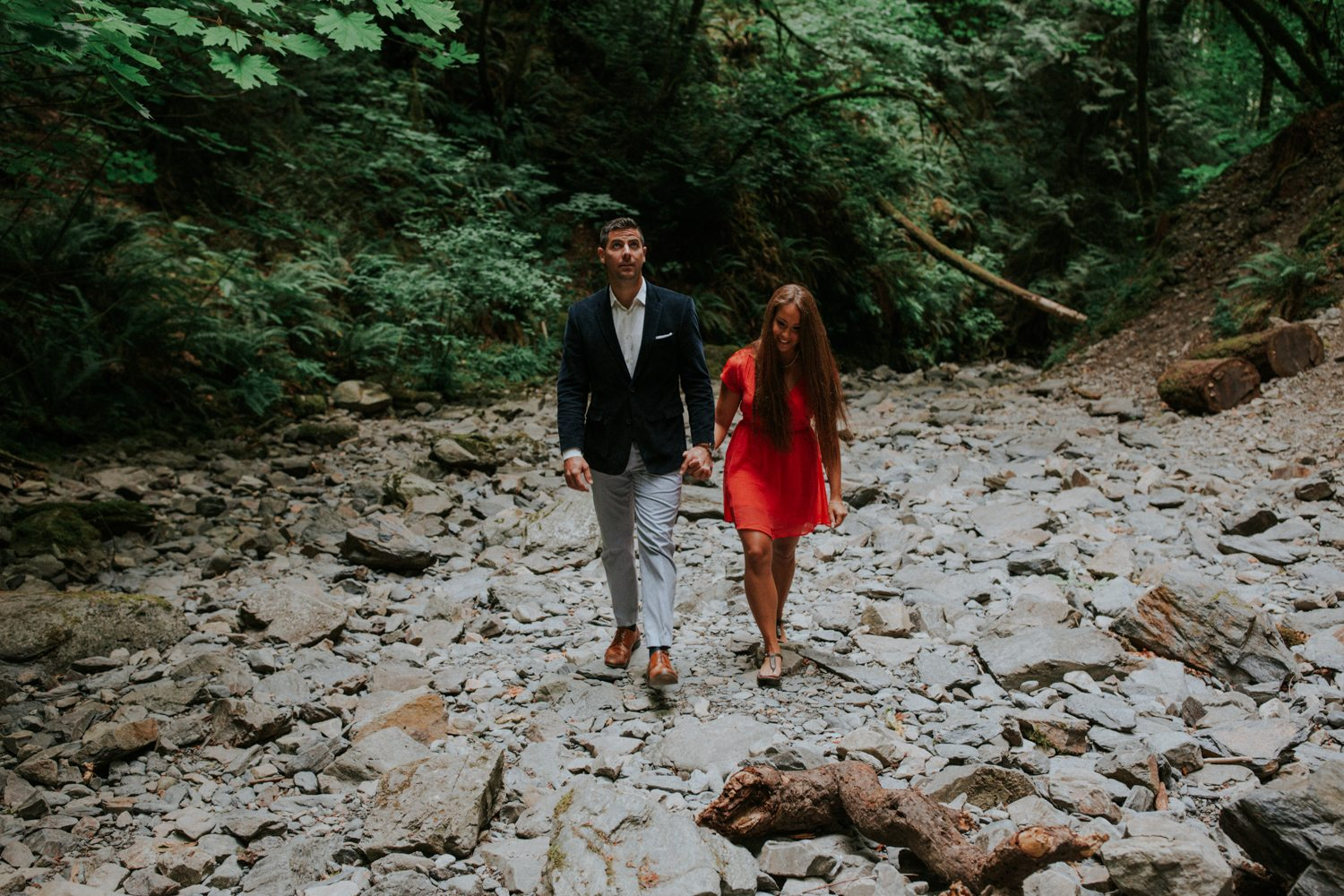 Aaron + Jess  // Victoria Engagement Photographer, Luke Liable  // Victoria & Vancouver Island Wedding Photographer