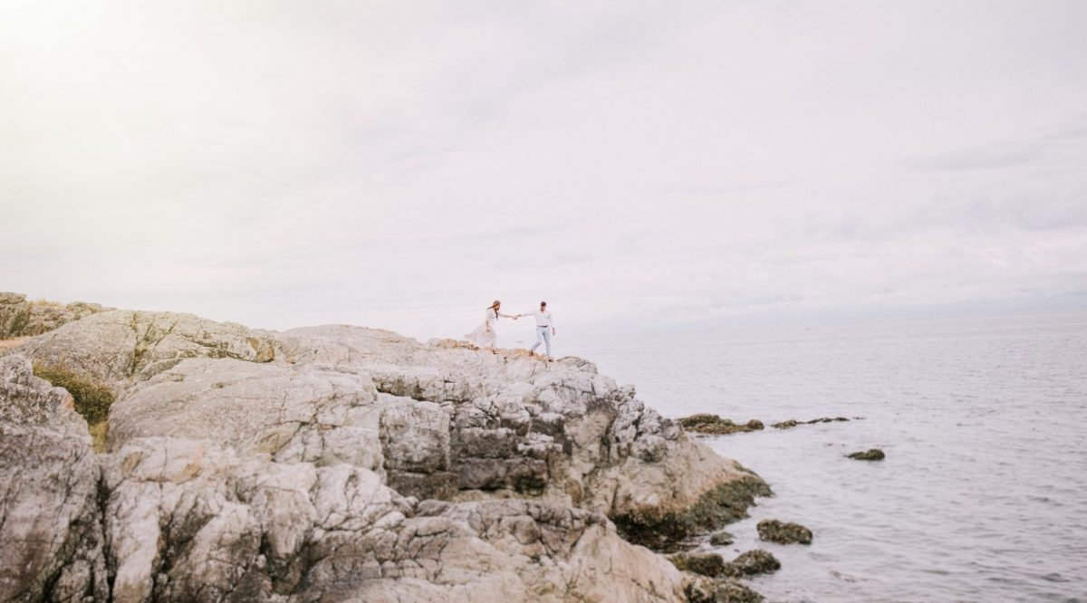 Aaron + Jess  // Victoria Engagement Photographer