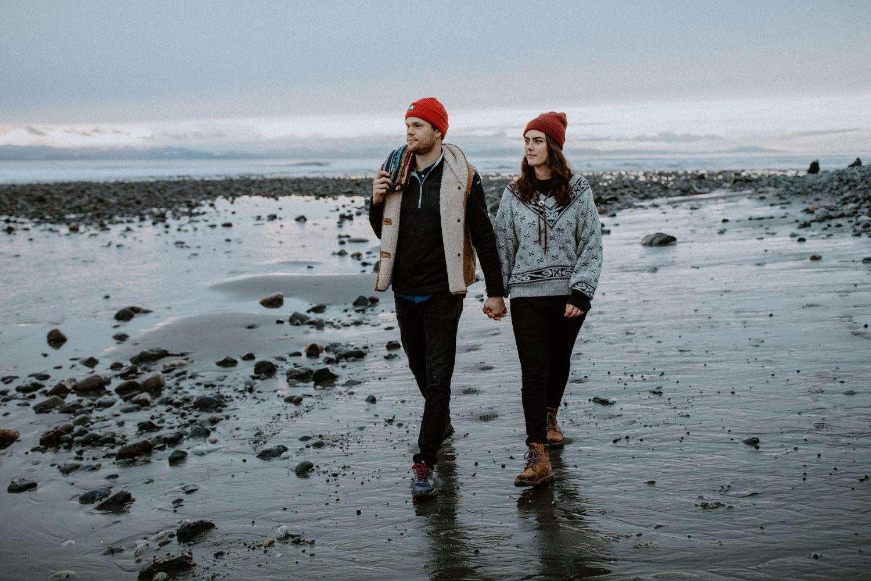 Kira + Nate // Victoria Adventure Photographer