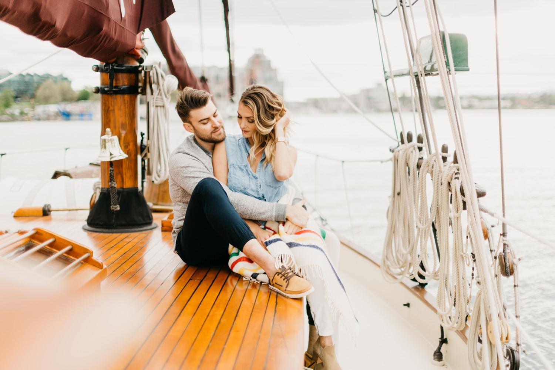 Sailboat Love Story, Luke Liable  // Victoria & Vancouver Island Wedding Photographer