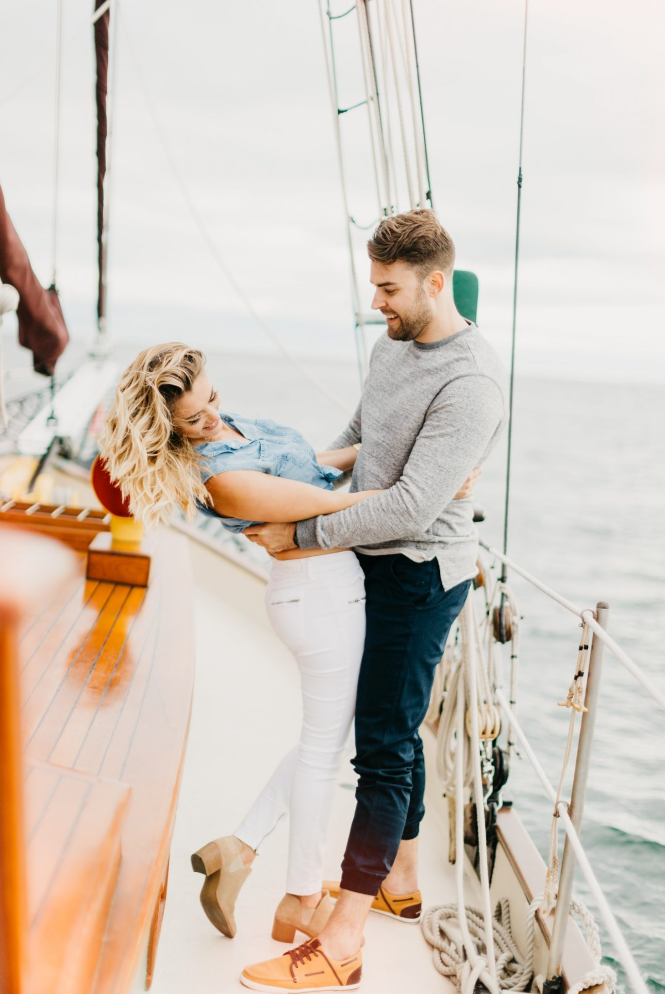 Natasha + Mitch // Water Adventure Session, Luke Liable  // Victoria & Vancouver Island Wedding Photographer