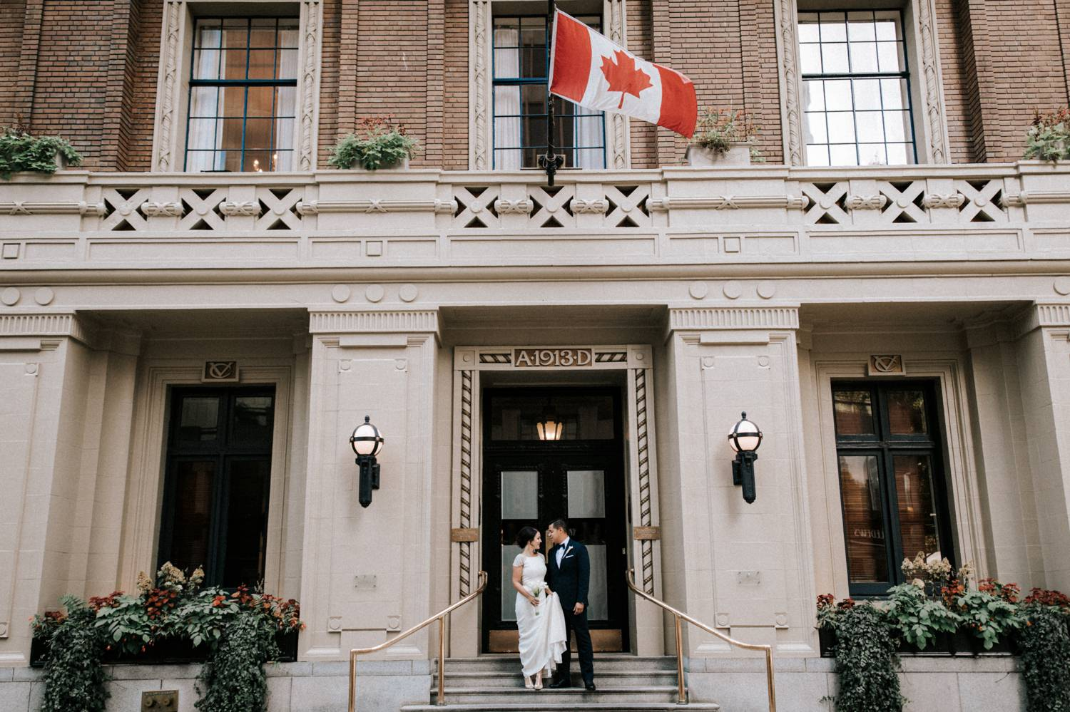Vancouver Club Wedding photography