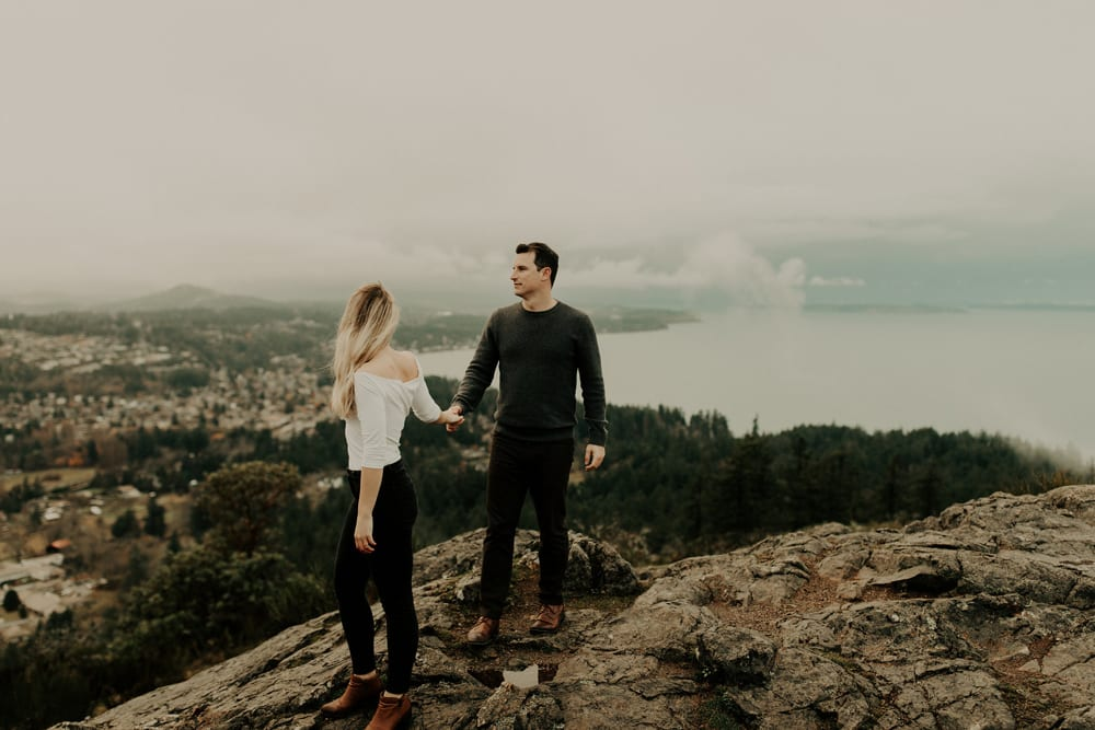 Molly + Jordan  // Victoria Engagement Photographer, Luke Liable  // Victoria & Vancouver Island Wedding Photographer
