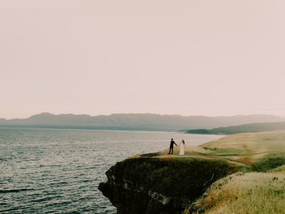 Lonni + Patt  //  Hornby Island Wedding Photographer