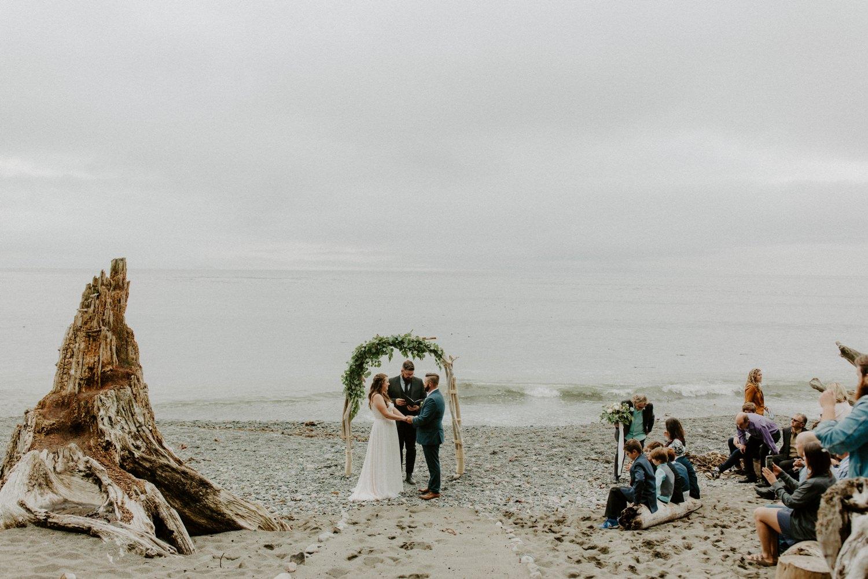 Sombrio Beach Elopement, Luke Liable  // Victoria & Vancouver Island Wedding Photographer